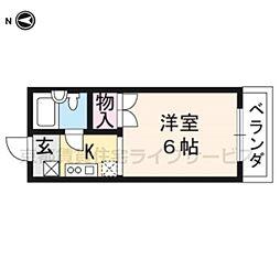 フルホワイト102[4階]の間取り
