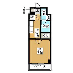 プロシード新栄[6階]の間取り
