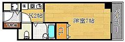 エクセレントライフK[2階]の間取り