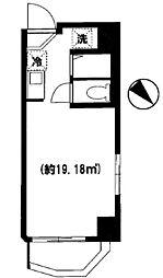 スマートVILLA神保町[3階]の間取り