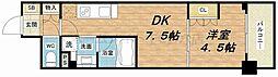 ザ・パークハビオ天満橋[3階]の間取り