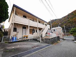 兵庫県神戸市北区唐櫃台2丁目の賃貸アパートの外観
