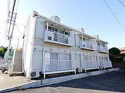 茨城県日立市中成沢町2丁目の賃貸アパートの外観