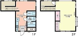 [テラスハウス] 東京都杉並区天沼2丁目 の賃貸【/】の間取り