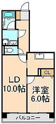 フルネス サヤマ[2階]の間取り