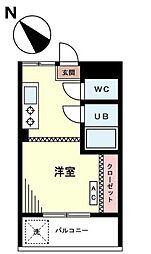 東京都豊島区長崎5丁目の賃貸マンションの間取り