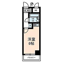 ライオンズマンション武蔵小杉第II[4階]の間取り