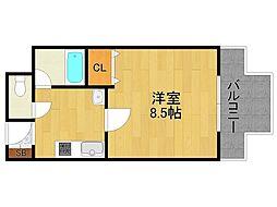 リッチライフ甲子園2[2階]の間取り