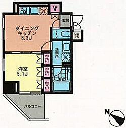 プライムアーバン目黒青葉台[2階]の間取り