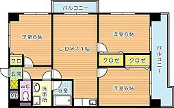第4晴和ビル[5階]の間取り
