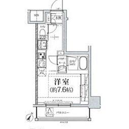クラリッサ川崎グランデ[4階]の間取り