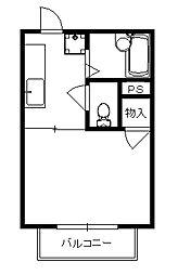 フレグランス矢立[1階]の間取り