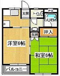 第一芦原マンション[3階]の間取り