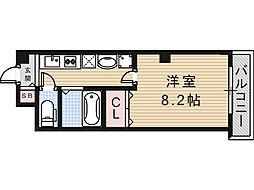 アミティ小阪[5階]の間取り