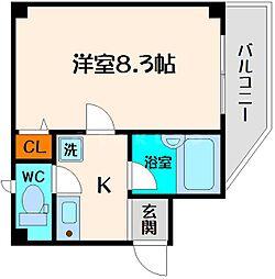 メゾンフィオーレ[1階]の間取り