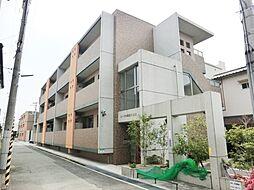 エーデル阪部八番館[1階]の外観