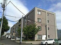 北海道札幌市白石区北郷七条4丁目の賃貸マンションの外観