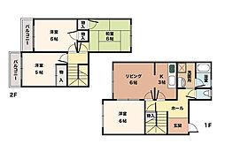 [タウンハウス] 兵庫県神戸市西区池上5丁目 の賃貸【/】の間取り