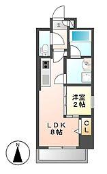 ポルタニグラ大須[6階]の間取り