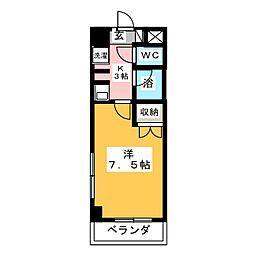 エクセル犬山[2階]の間取り