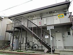 福岡県春日市春日公園7丁目の賃貸アパートの外観