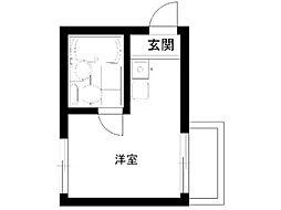 メゾン・ド・荻窪[2階]の間取り