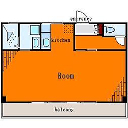 太平ビル[3階]の間取り