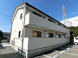 静岡県富士宮市三園平の賃貸アパートの外観