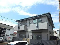兵庫県神戸市中央区上筒井通7丁目の賃貸アパートの外観