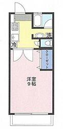 志村太陽ダイヤモンドマンション[14階号室]の間取り