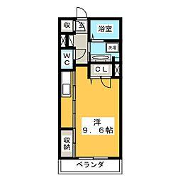 仮)シャーメゾン大橋通[3階]の間取り