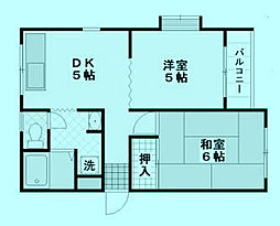 エミネンス[3階]の間取り