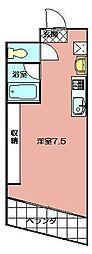 メゾンドエール[203号室]の間取り