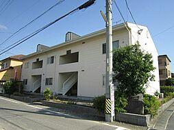 愛知県岡崎市舳越町字宮前の賃貸アパートの外観