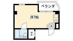 フロント久寿川[4階]の間取り