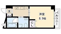 OAZO千里丘マンション[703号室]の間取り