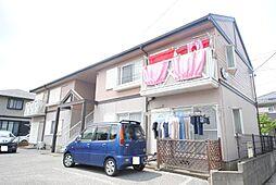 埼玉県越谷市東越谷10丁目の賃貸アパートの外観