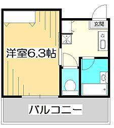 MYビル[3階]の間取り