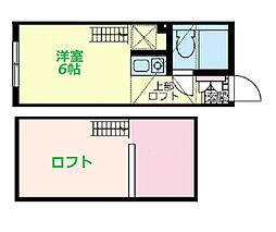 ドルチェ和田町[1階]の間取り