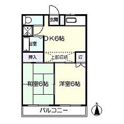 第8西山ビル[303号室号室]の間取り