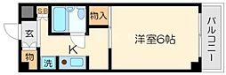 ハイツ篠崎[2階]の間取り