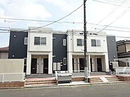 仮)つくばみらい市板橋新築アパート[1階]の外観