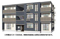 兵庫県明石市日富美町の賃貸アパートの外観