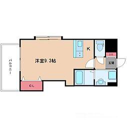 ラグゼ新大阪IV[5階]の間取り