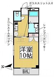 愛知県名古屋市千種区春里町4丁目の賃貸マンションの間取り