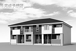 愛知県長久手市下山の賃貸アパートの外観