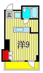 メゾン・ドゥ・ソレイユ[2階]の間取り