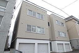 北海道札幌市白石区栄通20丁目の賃貸アパートの外観