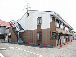 大阪府河内長野市松ケ丘東町の賃貸アパートの外観