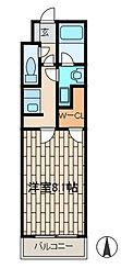 カーサソレアード[3階]の間取り